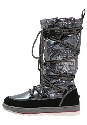 Dockers by Gerli Snowboots schwarz/grau