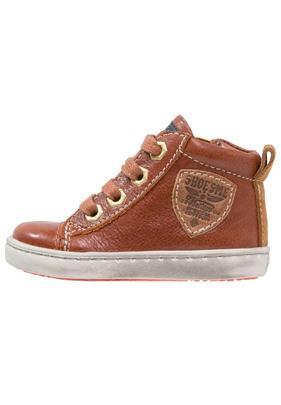 Shoesme URBAN Sneakers hoog cognac