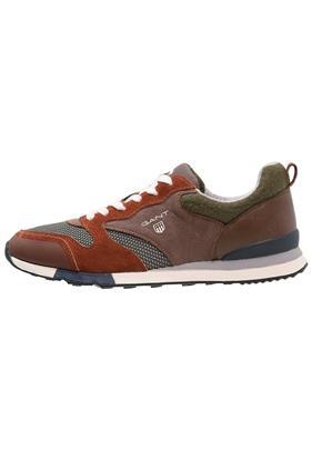 GANT RUSSELL Sneakers laag dark orange/moss green