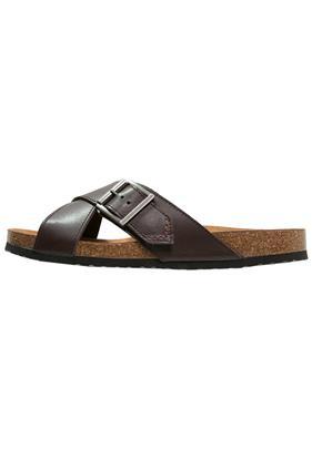 Geox DALMAZIO Slippers dark brown