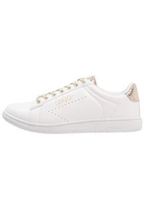 Le Temps Des Cerises SACHA Sneakers laag white/gold
