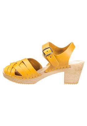 Moheda Toffeln BETTY Clogs mustard