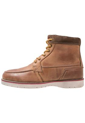 Pier One Snowboots tabacco/wood