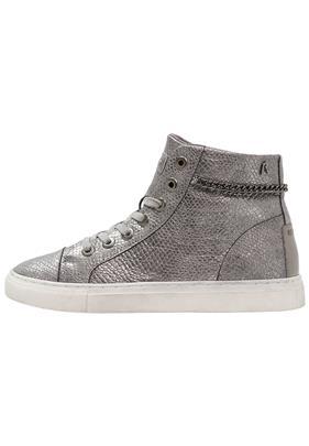 Replay DUNDE Sneakers hoog dark silver