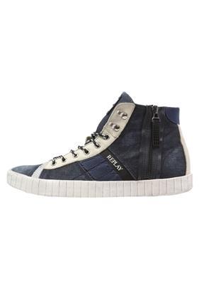 Replay ROOM Sneakers hoog denim