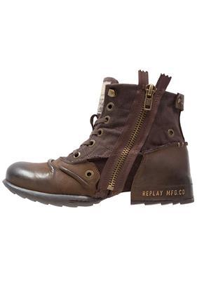 Replay CLUTCH Cowboy/Bikerlaarsjes dark brown