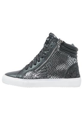 Replay Sneakers hoog black silver