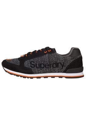 Superdry SUPERWEAVE Sneakers laag black