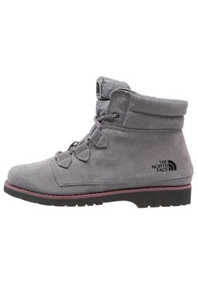 The North Face BALLARD Snowboots smoked pearl grey/deep garnet red