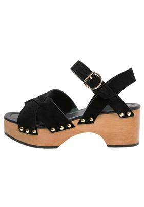 Whistles Clogs black