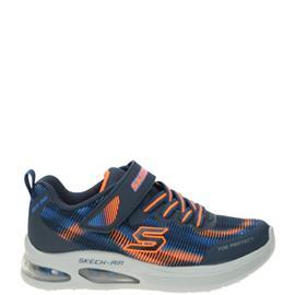 Skechers Skech-Air Klittenbandschoen  Blauw
