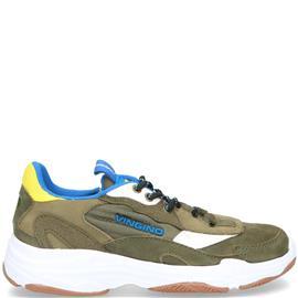 Vingino Danny Sneaker  Groen/Geel/Blauw/Multi