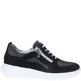 Waldläufer H-Lou Comfort Sneaker  Zwart