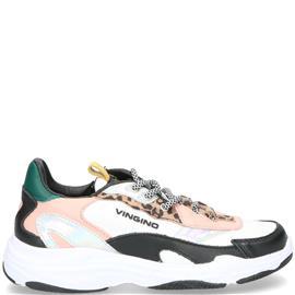 Vingino Vincia Sneaker Meisjes Multi/Roze/Wit/Zilver/Zwart