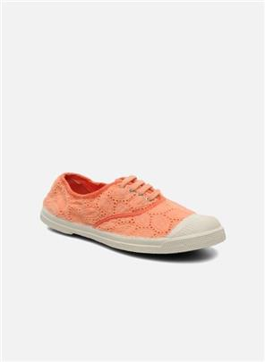 Sneakers Tennis Broderie Anglaise by Bensimon