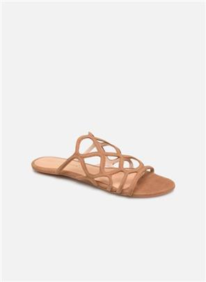 Wedges Vmalyssa Leather Sandal by Vero Moda