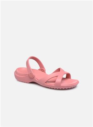 Wedges Meleen CrossBand Sandal W by Crocs