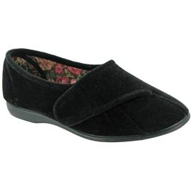 GBS pantoffels Audrey Damen/Frauen mit Klettverschluss