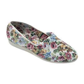 NU 20% KORTING: Mirak pantoffels Patricia katoen zomer slap / dames schoenen