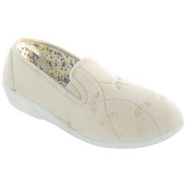 NU 20% KORTING: Mirak pantoffels Bessie dames linnen lamlendige / dames schoenen