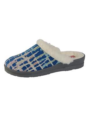 Pantoffel Naturläufer Blauw