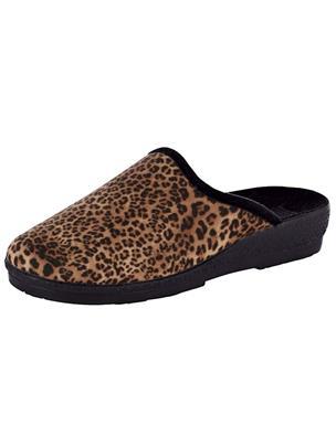 Pantoffel Belafit Bruin