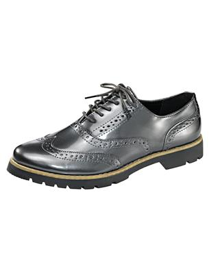 Veterschoen Fitters Footwear Antraciet