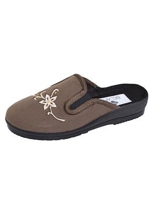 Pantoffel Belafit Taupe