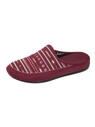 Pantoffel Belafit Rood