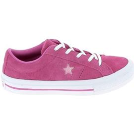 Lage Sneakers Converse One Star B C Fuschia