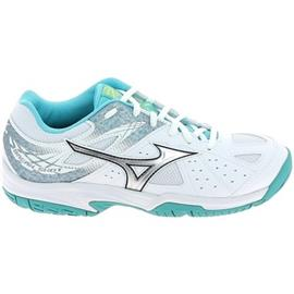 Sportschoenen Mizuno Break Shot Blanc Bleu Clair