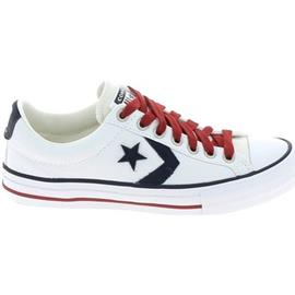 Lage Sneakers Converse Star Player Jr Blanc Rouge