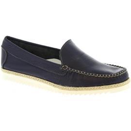 Mocassins Leonardo Shoes 239 VITELLO BLU REALE