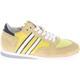 Sneakers Hip Shoe Style HIP H1854 Sneakers Geel Blauw