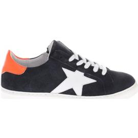 Sneakers Gattino G1213 Blauw Oranje Ster