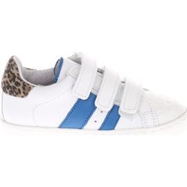 Sneakers Gattino G1733 Wit Blauw Panter