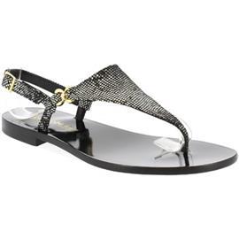 Sandalen Leonardo Shoes 34/17 NERO