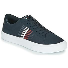 Lage Sneakers Tommy Hilfiger LIGHTWEIGHT STRIPES KNIT SNEAKER
