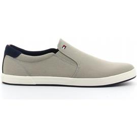 Instappers Tommy Hilfiger ICONIC SLIP ON SNEAKER taupe