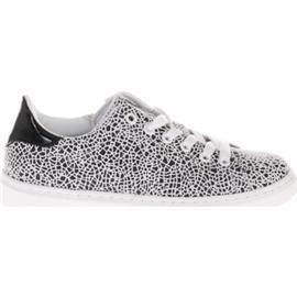 Lage Sneakers Gattino G1253 Zwart-Wit Giraffe Lak