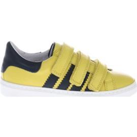 Lage Sneakers Gattino G1815 Sneakers Geel Blauw Klittenband