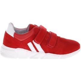 Lage Sneakers Gattino G1295 Sneakers Rood Wit Klittenband
