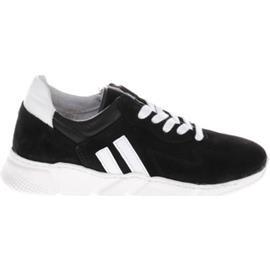 Lage Sneakers Gattino G1294 Sneakers Zwart Witte Strepen