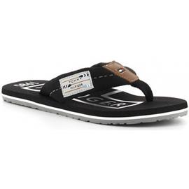 Teenslippers Tommy Hilfiger HILFIGER BADGE BEACH SANDAL negro