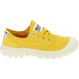 Lage Sneakers Palladium Pampa Organic Jaune
