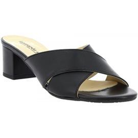 Slippers Leonardo Shoes C 557 NAPPA NERO6