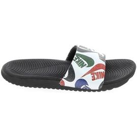 Sneakers Nike Kawa Slide K Noir Blanc CT6619-010