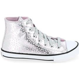 Hoge Sneakers Converse All Star Hi C Argent