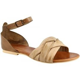 Sandalen Leonardo Shoes PC69X CAPRA FANGO