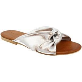 Sandalen Leonardo Shoes PC139 LAMINATO ARGENTO